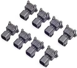 CENTAURUS Fuel Injector Connector Adapters EV1 to EV6 USCAR LS2 LS3 LS7 LSX LS1 LS6 LT1 TPI LS (Pack of 8)