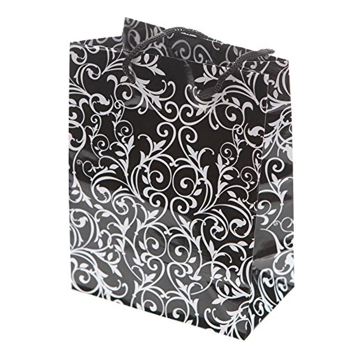 Small Black & White Wedding Gift Bags (1 dozen) - Bulk [Toy]
