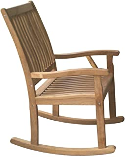 Royal Teak Collection RKC Classic Highback Comfort Rocking Chair