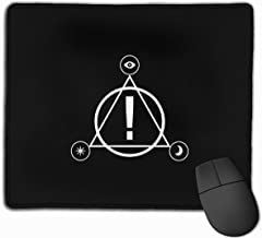 Panic! at The Disco Logo Personalized Mouse Pad Mat for Laptop Computer & PC 11.8 X 9.8 Inch
