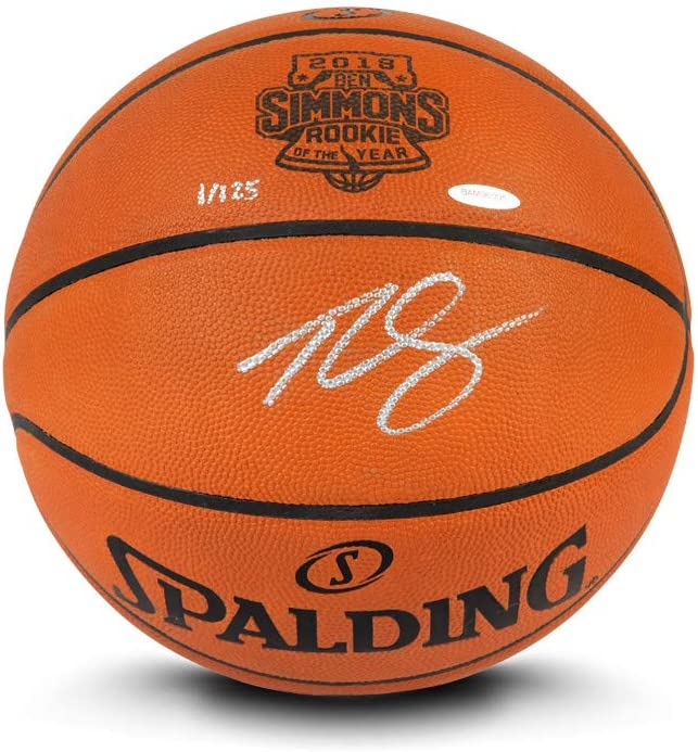 Upper Deck Ranking TOP19 Ben Simmons Spalding Basketball Authentic Super beauty product restock quality top! Autographed