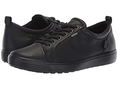 ECCO Soft 7 GORE-TEX(r) Tie (Black Cow Leather) Women