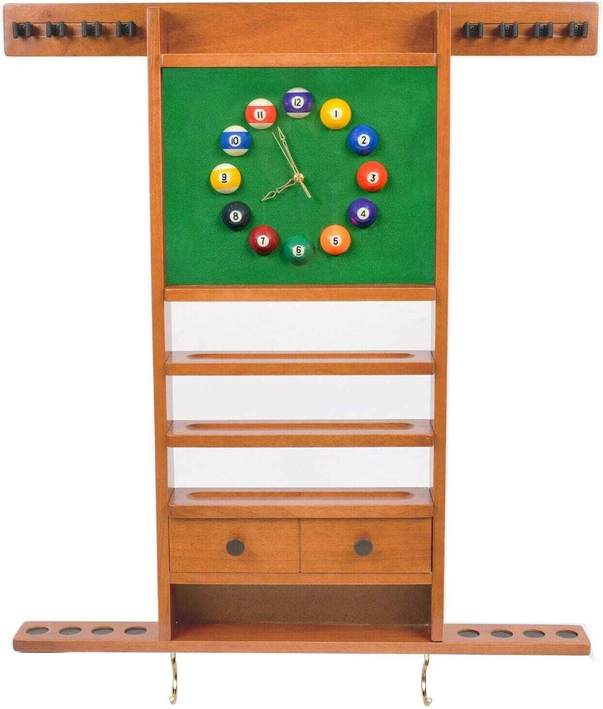 MRCH Cue Rack Only Popular brand - 8 Pool Outlet ☆ Free Shipping Holder Stick W Ball Billiard Clo