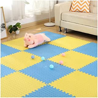 MAHFEI Interlocking Foam Pad Gym Living Room Floor Protection Baby Crawling Soft Antifouling Easy To Clean Convenient Stit...