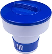 YMBERSA Dosificador Cloro Flotante Alta Capacidad para Piscina Cloro dispensador de Pastillas de Cloro para Pool Mantenimiento