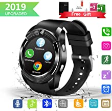 GuaTcy Smart Watch,Bluetooth SmartWatch with Camera Touchscreen,Smart Watches Waterproof Unlocked Phones Watch with SIM Card Slot,SmartWatches Compatible with Android Phone XS 8 7 6 Samsung Men Women