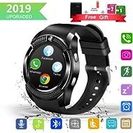 GuaTcy Smart Watch,Bluetooth SmartWatch with Camera Touchscreen,Smart Watches Waterproof Unlocked...