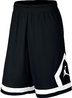 d47ec0bf Jordan Nike Boy's Dri-Fit Diamond Knit Shorts -Black (Medium)