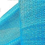 HUO Rete Ombreggiante Blu, Tessuto per Protezione Solare, Rete Isolante per Ombreggiamento per Il Parcheggio di Piscine (Colore : Blu, Dimensioni : 2 * 100m)
