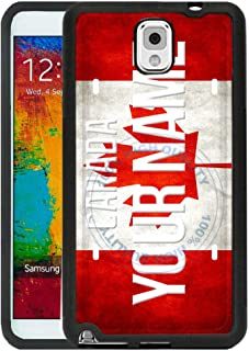 BRGiftShop Customize Your Own License Canada Plate Rubber Phone Case for Samsung Galaxy J3 2018