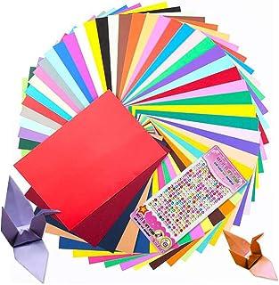 100 feuilles de papier cartonné A4,Feuilles de papier dans des tons colorés, Couleurs assorties, grammage 230 g/m², feuill...
