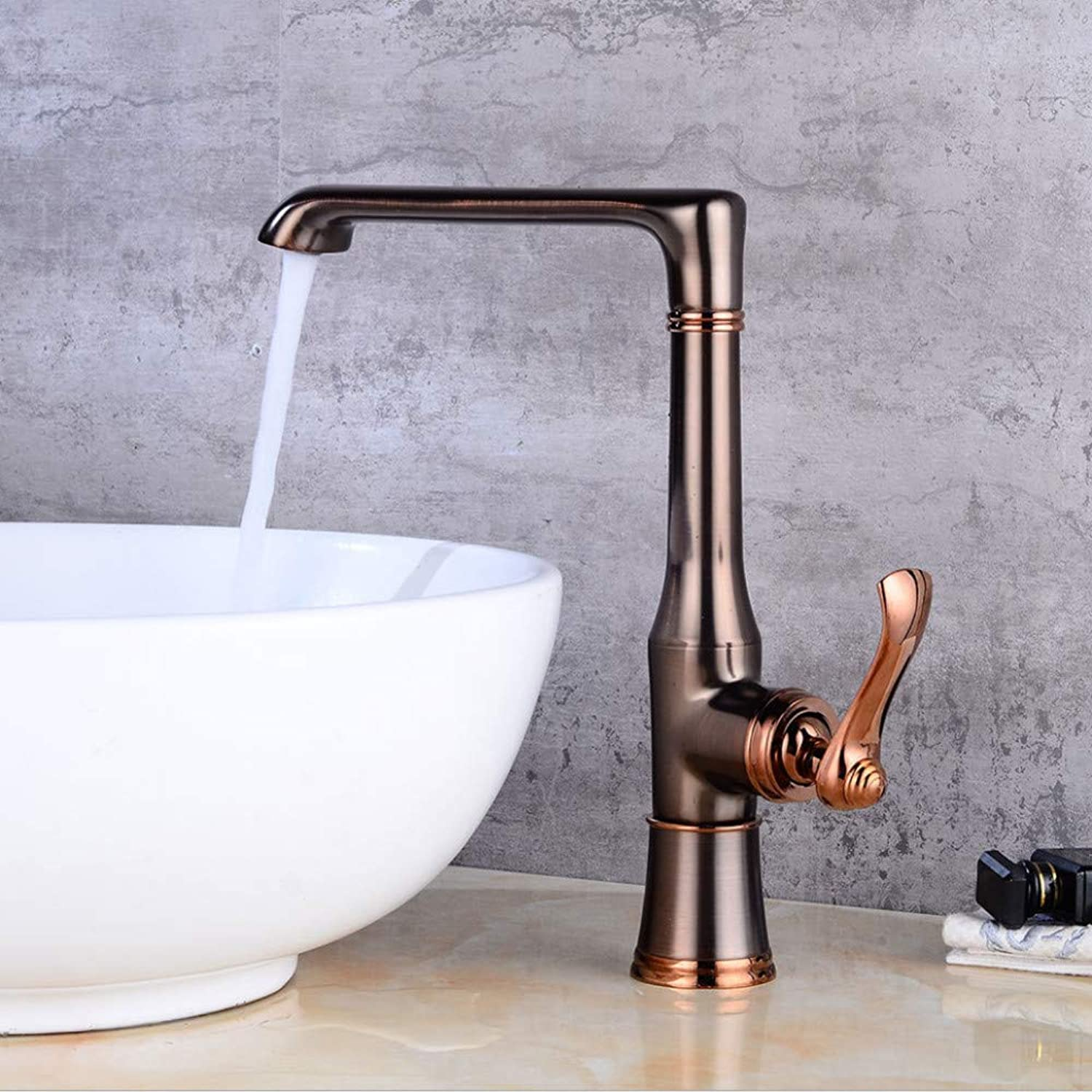 Faucet European Retro Kitchen Faucet Sink Faucet redating Sink Faucet hot and Cold Water Faucet