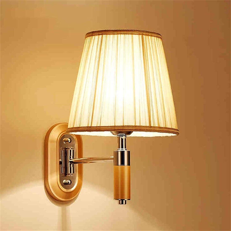Hai Ying    Schlafzimmer Nachttischlampe Led Wohnzimmer Arbeitszimmer Spiegel Frontleuchten Einfache Hotelzimmer Nachttischlampe (Gre  Einzelkopf)