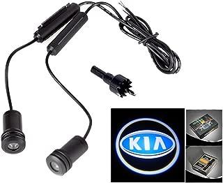 Lupar 5w 4th Generation 2x LED Car Door Laser Projector Ghost Shadow Step Light Logo (Fits:KIA)