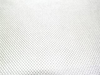 SyFabrics sports jersey micro mesh fabric 58 inches wide White