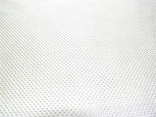 SyFabrics Sports Jersey Micro mesh Fabric 58 inches Wide White