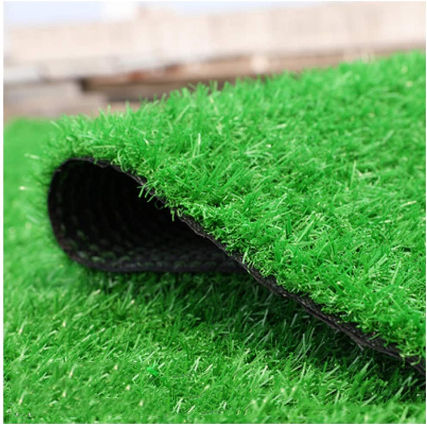 Artificial Turf Lawn 30mm Pile Height, High Density Holiday Straw Mat Natural Realistic Garden Roof Pet Dog Lawn (1mx2m) (Size   1 x13m)