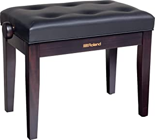 Roland RPB-300 Piano Keyboard Bench, Adjustable Height 18.9-22.8-Inch, Rosewood