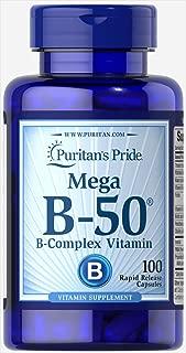 Puritan's Pride Vitamin B-50 Complex-100 Capsules