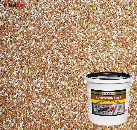 Buntsteinputz Mosaikputz BP40 (braun, weiss, gelb) 20kg Absolute ProfiQualität