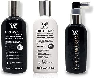 Waterman's GrowMore, GrowPro, Shampoo and Conditioner Sets (1 Pack, Grow Me Shampoo + Condition Me + GrowMore)