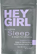 Sleep Aid Tea for Bedtime - Herbal Stress & Anxiety Relief Remedy to Help Insomnia, Relax & Get Restful Sleep at Night | with Valerian Root Extract, Chamomile and Lemon Balm