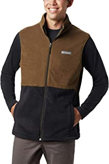 Men's Basin Trail Fleece Vest, Full Zip