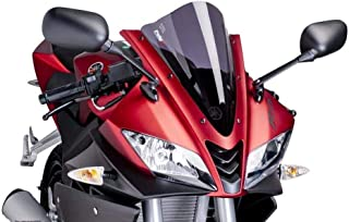 Puig Racing Scheibe Yamaha YZF  R125 2008  schwarz getönt 90% Verkleidungsscheibe