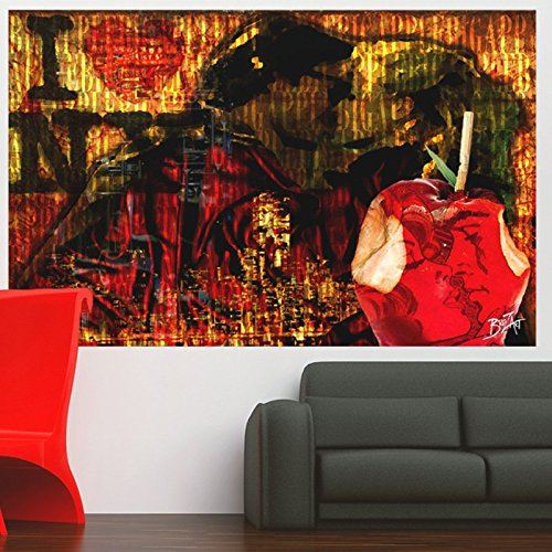 Ambiance-Live I Love New York Wandtatoo - 40 x 65 cm