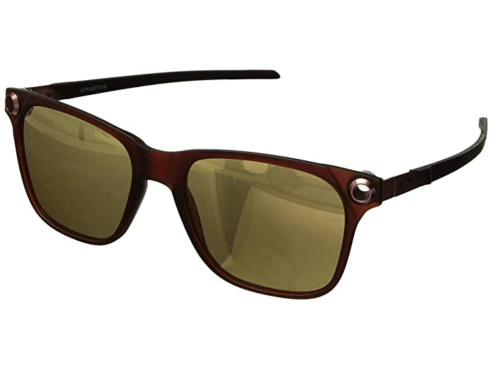 Oakley  55 mm Apparition (Satin Dark Amber with PRIZM Rose Gold) Fashion Sunglasses