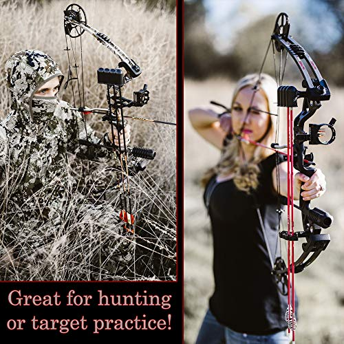 """RAPTOR Compound Hunting Bow Kit: LIMBS MADE IN USA 