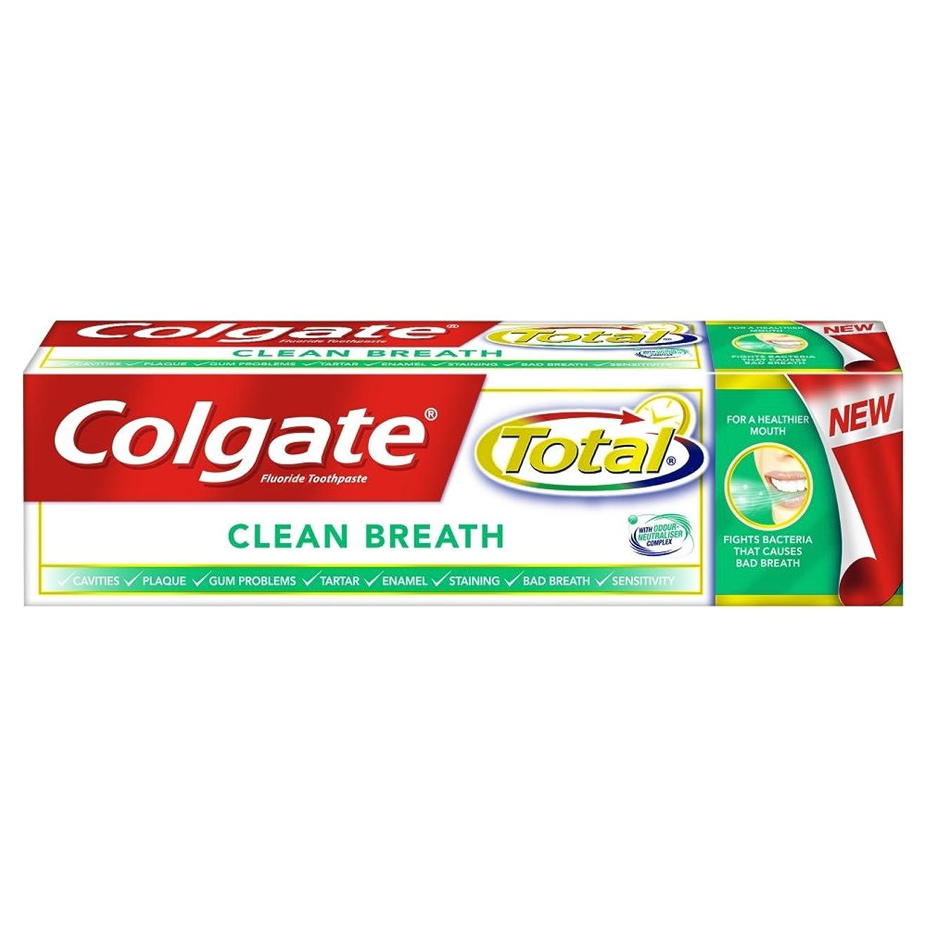 科学的岩閃光[Colgate ] コルゲートトータルプレミアムクリーン息歯磨き粉75ミリリットル - Colgate Total Premium Clean Breath Toothpaste 75Ml [並行輸入品]