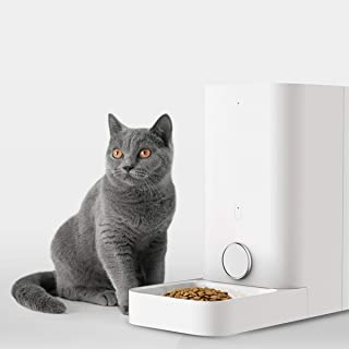 PETKIT Automatic Pet Feeder Food Dispenser for Dog Cat, Wi-Fi Enabled App for Android, iOS and Compatible with Alexa, Timer Programmable, Portion Control