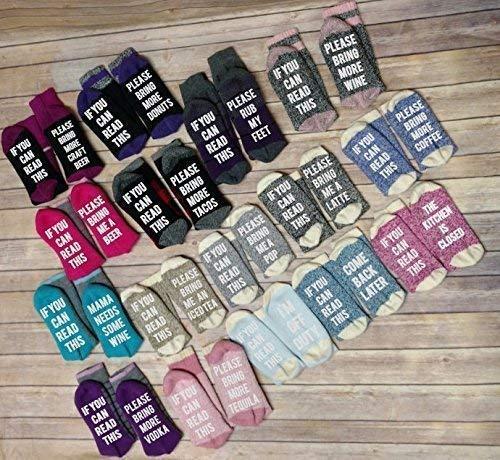 Custom Wine Socks for Women