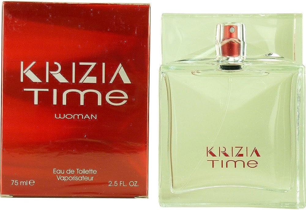 Krizia time-eau de toilette spray profumo per donna 75 ml 141409