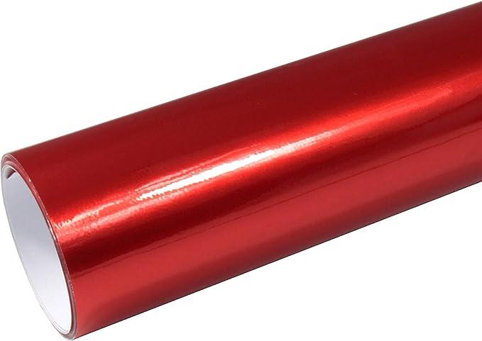 Rapid Teck 8 55 M Autofolie Serie Z560 Candy Lipstick Red Hochglanz 1m X 1 52m Rot Selbstklebende Premium Car Wrapping Glanz Folie Mit Luftkanal Baumarkt