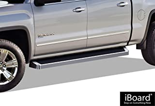 APS iBoard Running Boards Style Custom Fit 2015-2020 Chevy Colorado GMC Canyon Crew Cab Pickup 4-Door (Nerf Bars Side Steps Side Bars)