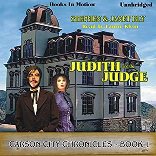 Judith and the Judge audiobook cover art