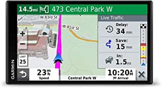"Garmin DriveSmart 65 & Traffic:  GPS navigator with a 6.95"" display, hands-free.."