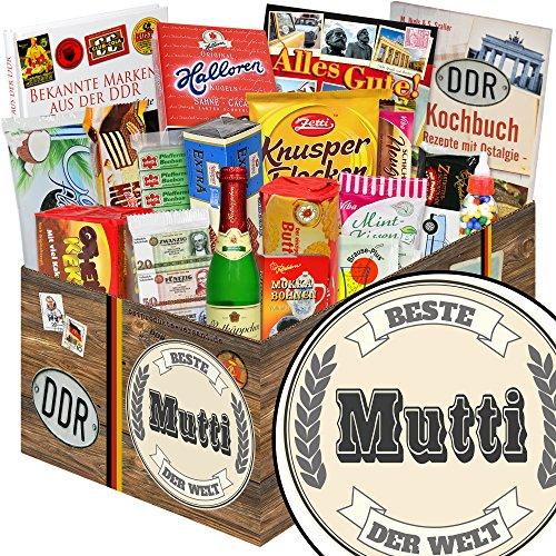 Beste Mutti der Welt Geschenke zum Geburtstag | DDR Produkte | DDR Box