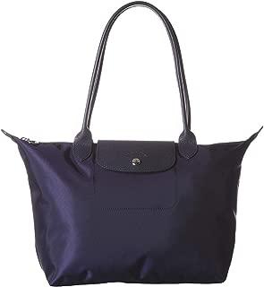 LongChamp Women's Marine Navy Blue Neo Medium Tote Handbag