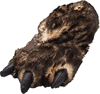NORTY Grizzly Bear Stuffed Animal Claw Paw Slippers Toddlers, Kids & Adults