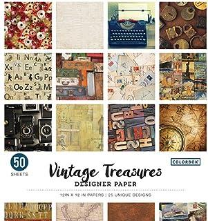 c51ceb732b60a Amazon.com: Vintage - Decorative Paper / Paper: Arts, Crafts & Sewing