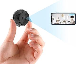 Cámara Espía 4K HD, Mini Cámara WiFi de Vigilancia Oculta para Ver en el Móvil con App, Microcamara Inalámbricas con Bater...