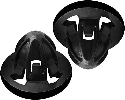 Tail Light Lamp Retainer Clip Fastener Best for 2007-2018 Dodge Ram 1500 2500 3500 - OEM Part 68084593AA (Pack of 2)