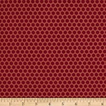 Andover 0575242 Sequoia Berries Raspberry Fabric by the Yard