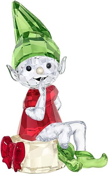 施华洛世奇圣诞老人精灵水晶多色 5 6X2 9 厘米