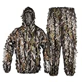 Tongcamo Hunting Ghillie Suit 3D Bionic Leafy...