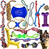Jalousie 14 Pack Puppy Chew Dog Rope Toy Assortment for Small Medium...