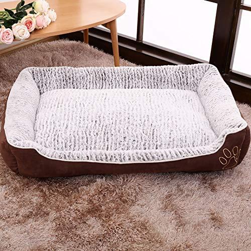 PETKE huisdierbed, machinewasbaar en afneembaar, antislip en waterafstotend hondenmatras voor kleine, middelgrote grote honden